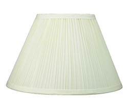 """Urbanest Coolie Mushroom Pleated Lampshade,6""""x12""""x8"""",Faux Silk,Spider,4 Colors - $26.99"""