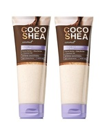Bath & Body Works Coco Shea Coconut Nourishing Body Buff 8 oz x2 - $36.99