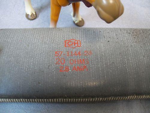 Cutler Hammer  57-1144-24 20 OHMS 2.8 Amp Resistor