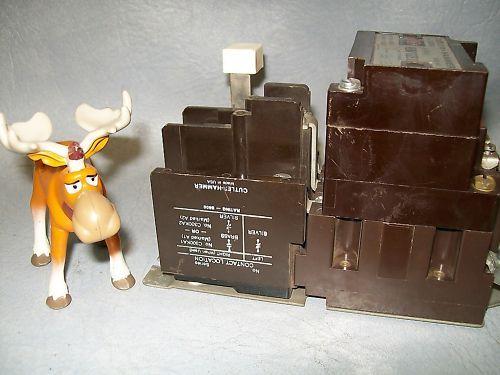 Cutler Hammer A10BN0 NEMA Size 0  Starter 120V Coil