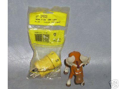 Daniel Woodhead Super Safeway Plug 20A 1433  QTY 3 _C77