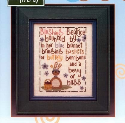Beatrice Tongue Twisters cross stitch chart The Trilogy
