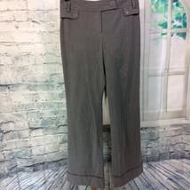 Ann Taylor Loft Petites Gray Office Pants Women's 4p - $12.19