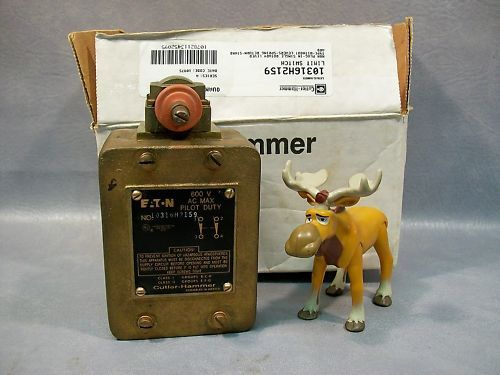 Eaton Cutler-Hammer 10316H2159 Limit Switch  600 vac