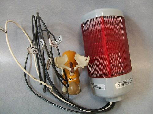 Edwards Triliptical Beacon Light 102PMBS-N5 w/ Red lens