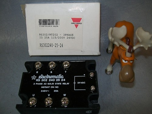 Electromatic Relay RS302 RT202 3 Phase RS 302 240 25 24