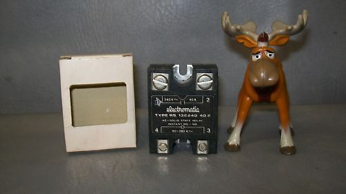 Electromatic Solid State Relay RS 132240 40-2 40A 240V