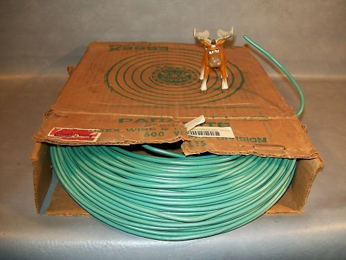 Essex #14 Green Stranded Copper Wire Approx. 500'