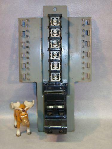 KK-470 KK470 Federal Pacific CTL Circuit Breaker 120/240 VAC w Buss Bar