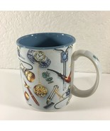 Otagiri Classics Mug 1995 Stephen Lawrence Coffee Tea Pipes Watches Razo... - $14.85