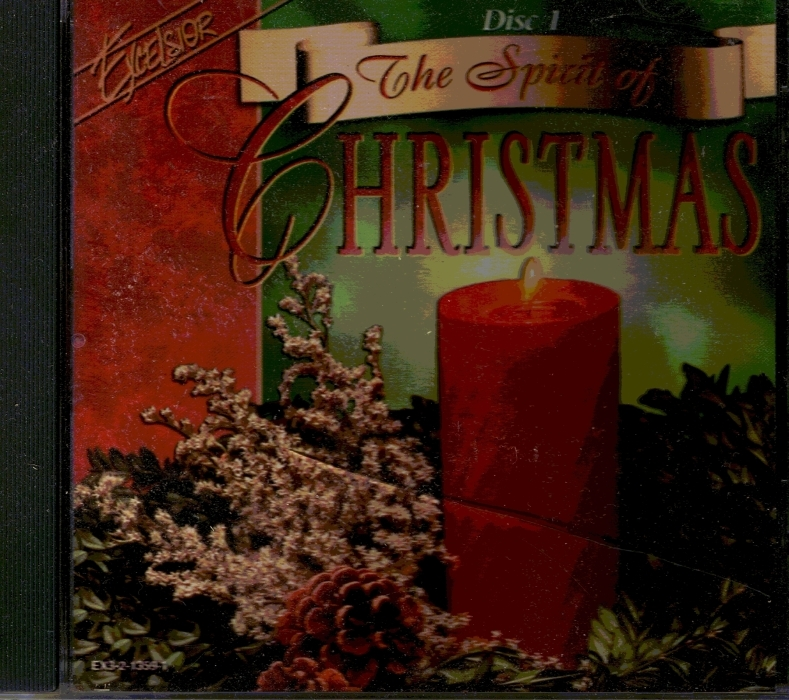 CD Set 3 The Spirit of Christmas Starlite Orchestra and Singers Excelsior 1996