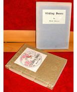 Sliding Doors Michi Kawai Japan 1950 WW II Silk Brocade has sleeve - $15.00