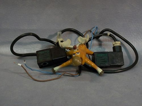 Festo Solenoid Coil MFSG-24 DC-24V 4.5W IP55   Lot of 2