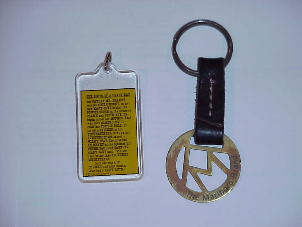 Military Buttons , Marlbooro Key ,  Chain Necklace (3)