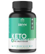 Premium Keto Supplement Defeat Fatigue & Cramps with This Electrolyte Su... - $14.80