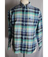 American Eagle Outfitters Men's Long Sleeve Button Down Shirt size M - $18.80
