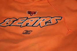 Reebok Chicago Bears Hoody Hoodie Sweatshirt sz 2XL XXL Football NFL Orange - $49.95