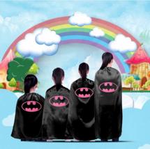 WakaParty® Cartoon Batman Cloak Clothing Cosplay Superhero Capes for Kid... - $6.18+