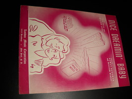 Sheet Music Nice Dreamin' Baby Fred Wise and Milton Leeds London Music 1941 - $8.99