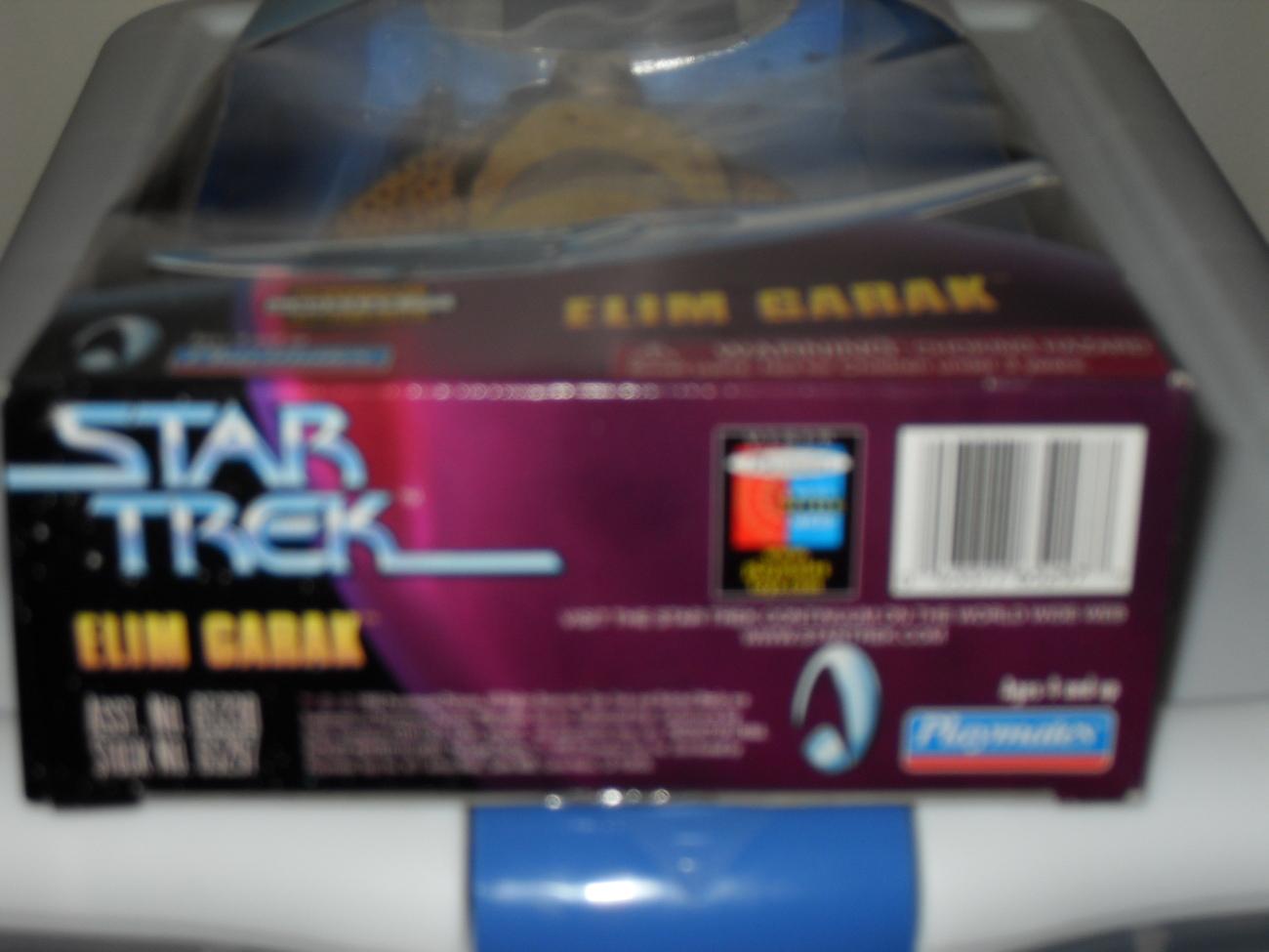 1998 Star Trek  Elim Garak  Figure In The Box