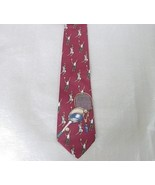 Tennis Neck Tie Necktie Silk USA Rooster Rogue - $9.95
