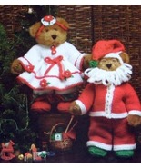 Knit & Crochet Pattern MR & MRS SANTA CLAUS Complete Outfits! JAO Patter... - $4.99