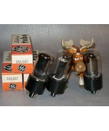GE Electronic Vacuum Tube 50L6GT Lot of 3 - $75.17