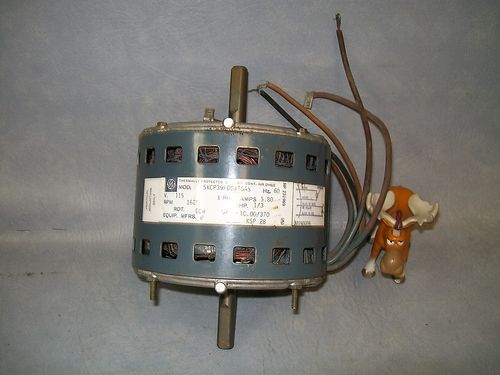 GE Motor 5KCP39FGG475AS 1 Phase 60 Hz. 5.8 Amps 1/3 HP