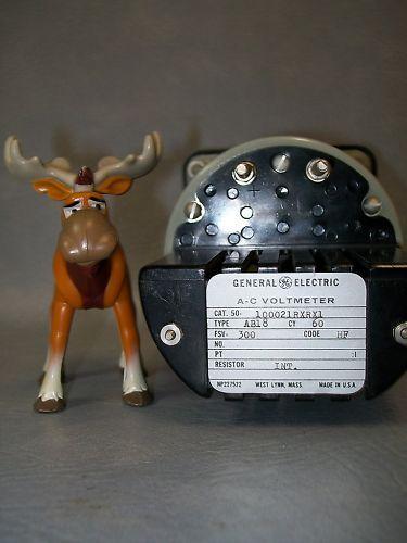 General Electric AC 0-300 Ammeter 100021RXRX1