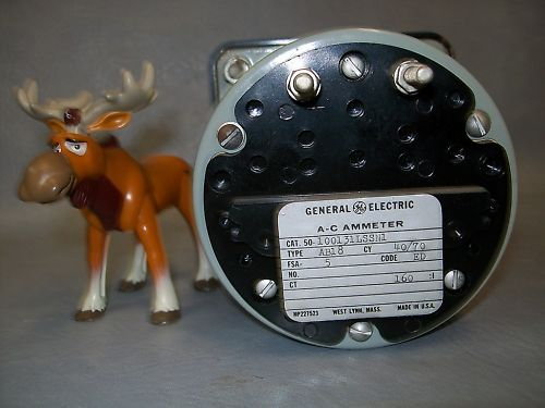 General Electric AC 0-800 Ammeter 100131LSSN1