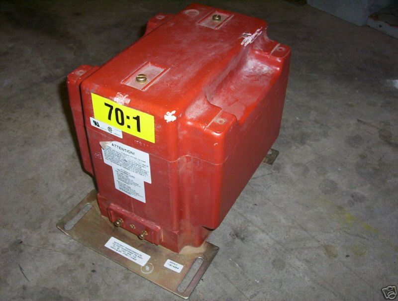 General Electric PTW5-1-110-123F Voltage Transformer