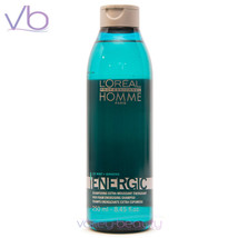 L'OREAL Professionnel Homme Energic Shampoo For Men, 250ml - $16.50