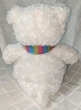 GANZ HX11211 Gusty The White Bear Hug Me Collection 15 Inches 3 Plus Age image 4