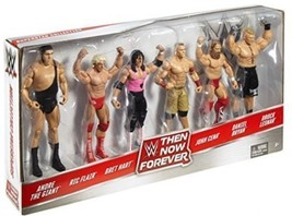 WWE, Basic Series, 2016 Then Now Forever Action Figure 6-Pack NEW - $140.25