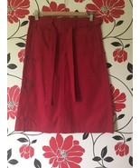 Dynamite red skirt, size 3 - $8.00