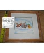DISNEY Tigger Eeyore & Winnie the Pooh framed art print - $9.99