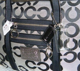 COACH POPPY BLOCKED OP ART GLAM NTW 14530