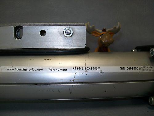 """Hoerbiger Cylinder P124-S/20X25-BM  21"""" Stroke"""