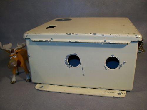 """Hoffman A-808CH Enclosure w/ Backplate 9-1/2"""" x 9"""" x 4"""""""