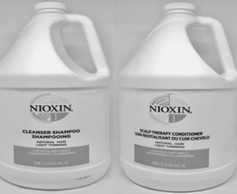 NIOXIN System 1 Cleanser Shampoo & Scalp Therapy Conditioner Duo Deal - $123.74