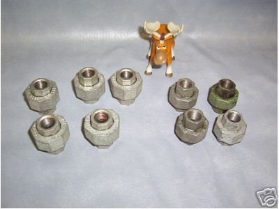 """ITT Grinnell 3/8"""" Pipe Fitting Union  LG LOT"""
