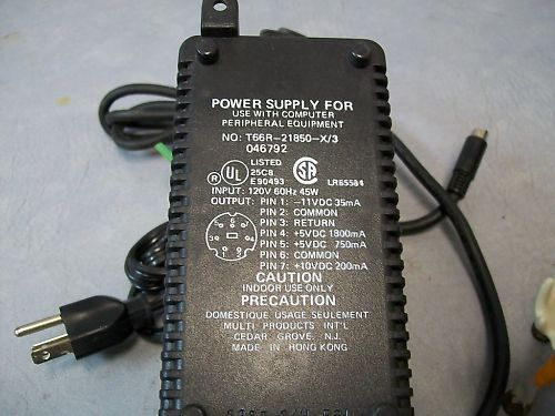 Intermec Power Supply T66R-21850-X/3