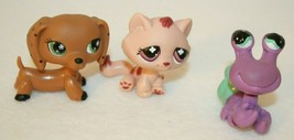 Monopoly Littlest Pet Shop 3 Replacement Tokens pets only dachshund cat ... - $34.95