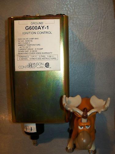 Johnson Controls G600AY-1 Ignition Control 24 VAC