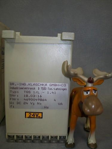 Klaschka Taktgeber TGS1/L-1.41 SNr 18.03-16 49690049864