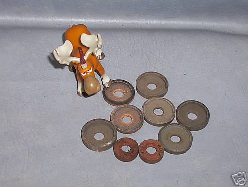 Knife Grinding Wheels Stone 1-1/2 OD Lot of 9