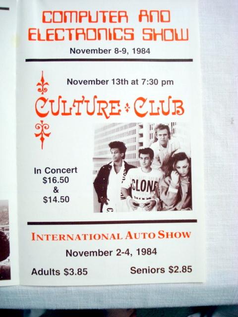 Hartford Civic Center Program Nov 1984 Hartford Whalers