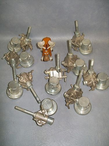 Labomeca Stainless Labstand Bossheads 13 mm Lot of 10