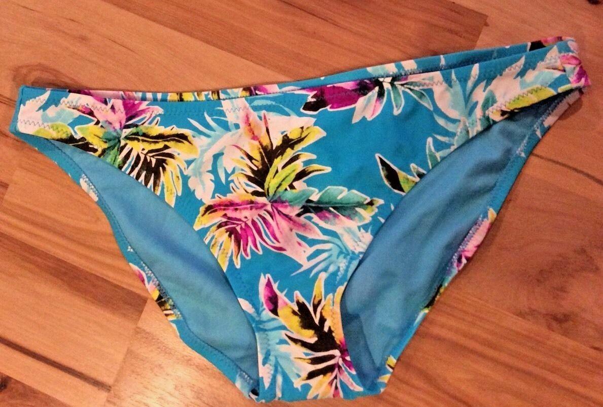 848bd57066 57. 57. Previous. Bikini Bottoms Womens XL Blue Tropical Swimsuit  Xhilaration Target New · Bikini ...
