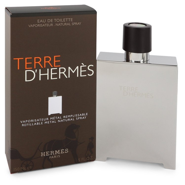 Hermes Terre D'Hermes 5.0 Oz Eau De Toilette Refillable Spray